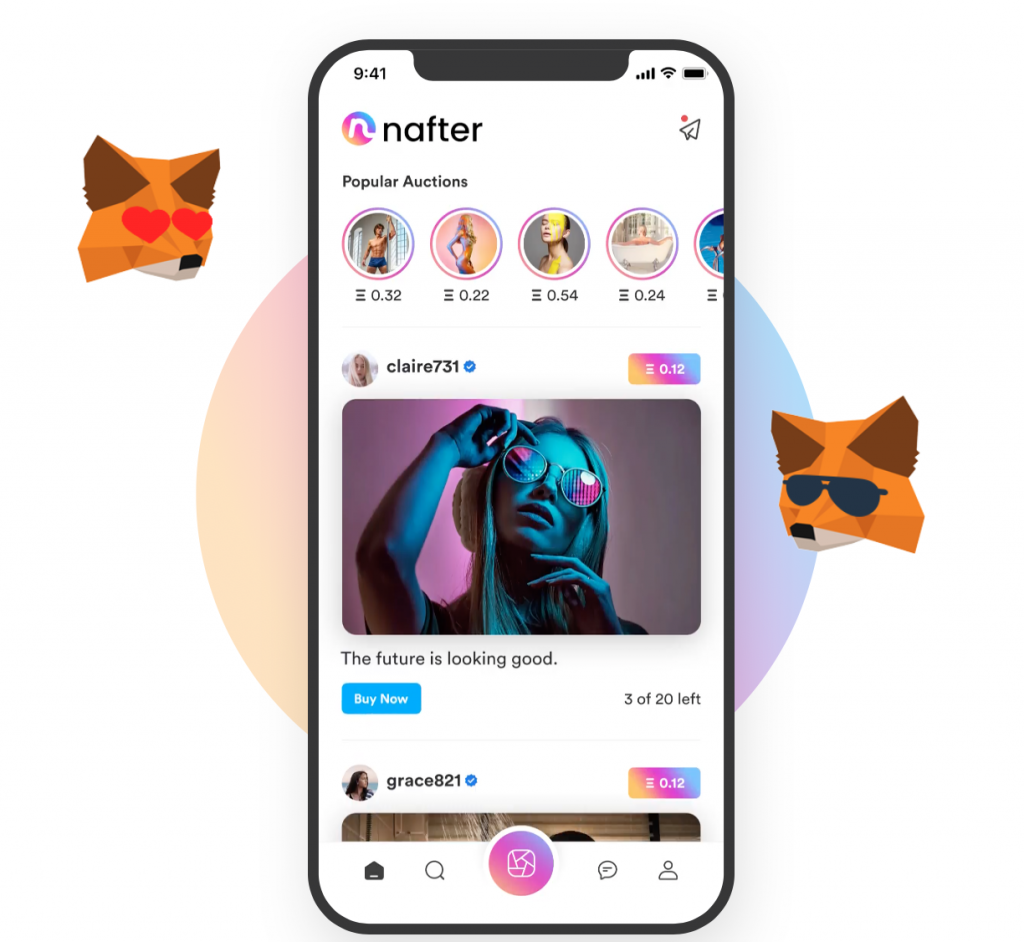 Introducing Nafter: NFT's for influencers and their fans